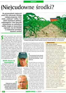 jak wyleczyć rośliny, użyźniacz glebowy